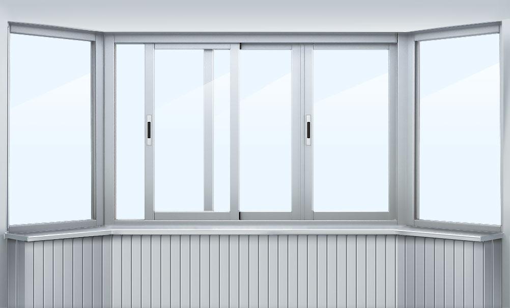 Алюминиевое (холодное) остекление балконов и лоджий алюминие.